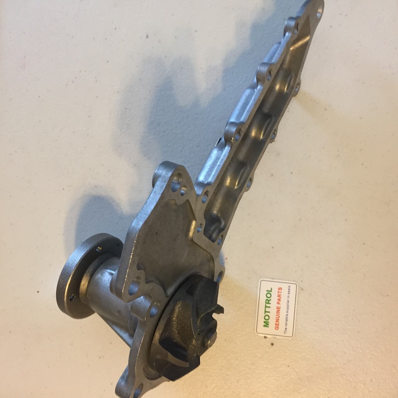 medium resolution of 15521 73039 water pump fits bobcat skid steer loader 743b 753g 763 kubota v2403