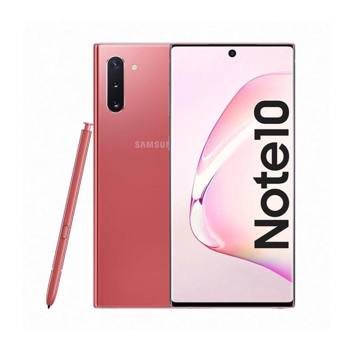 """Samsung Galaxy Note 10 N970FD Aura Pink 8/256GB 6.3"""" Exynos 9825 Phone -  BQSHOP"""