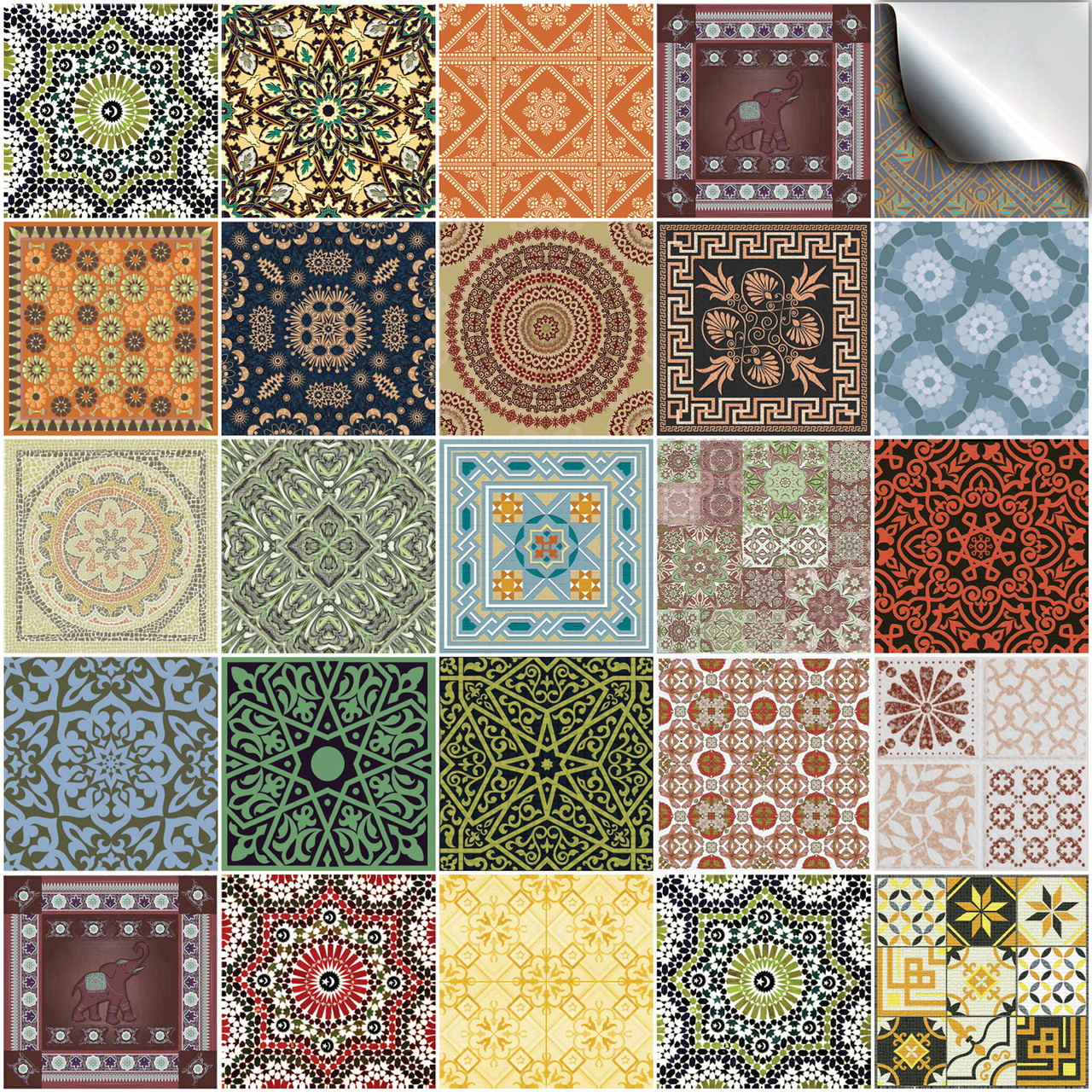 24 victorian tile transfers 6x6 4x4 inch for bathroom and kitchen victorian portuguese 10x10 15x15cm tile stickers