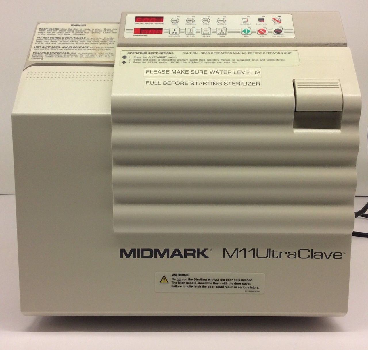 hight resolution of refurbished midmark ritter m11 ultraclave old style