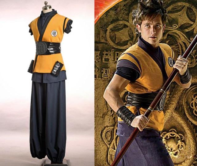 Dragon Ball Evolution Cosplay Goku Costume Set