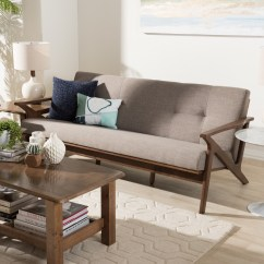 Bianca Futon Sofa Bed Review Bb Italia Lunar Baxton Studio Mid Century Modern Walnut Wood Light Grey Fabric Tufted 3 Seater Dealbeds Com