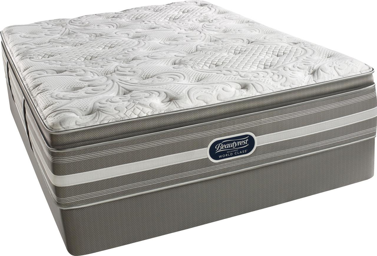 simmons beautyrest recharge world class coral plush pillow top mattress