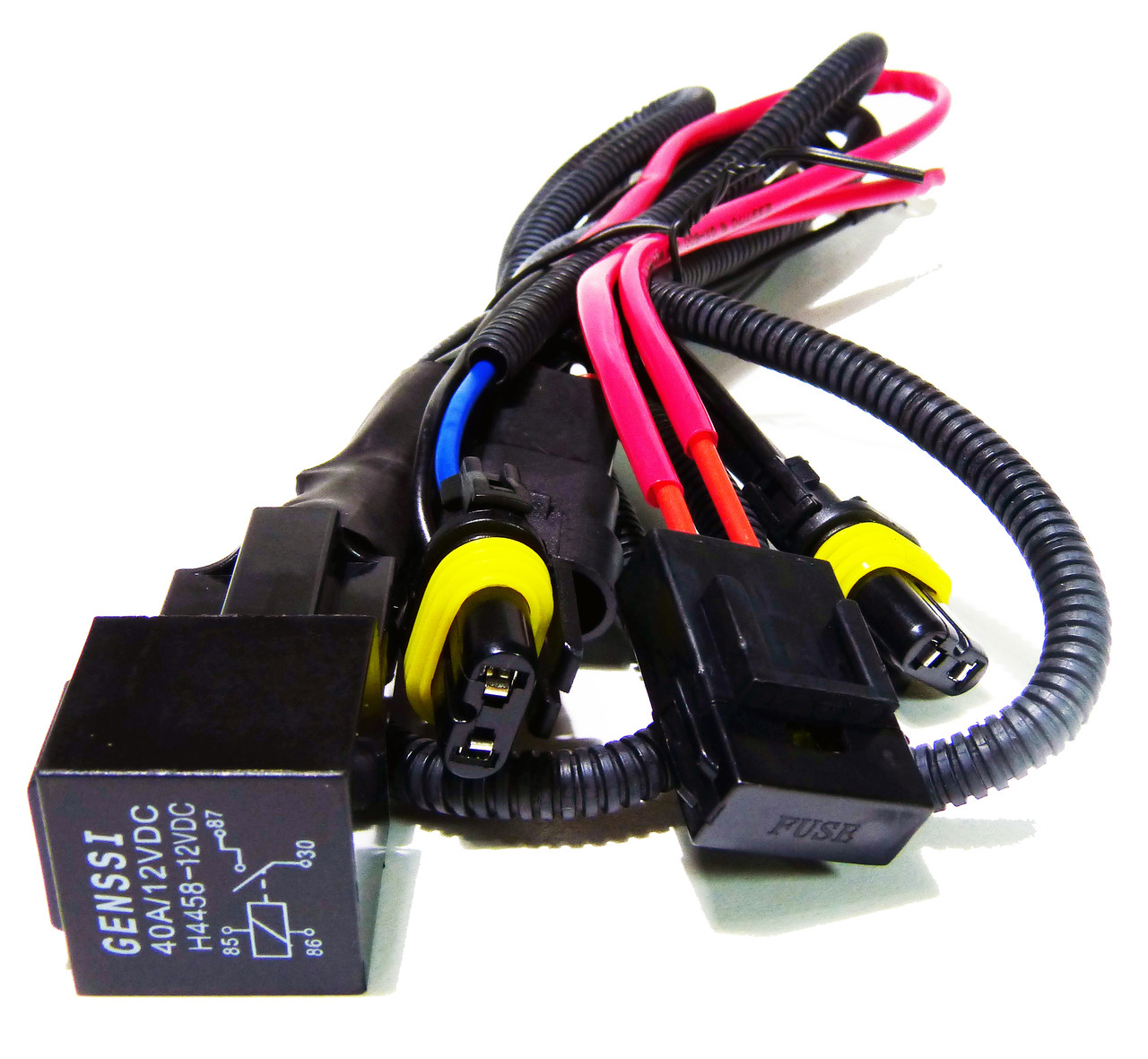 hid xenon wire relay harness 9006 9005 h10 9145 9055 9012 [ 1280 x 1181 Pixel ]