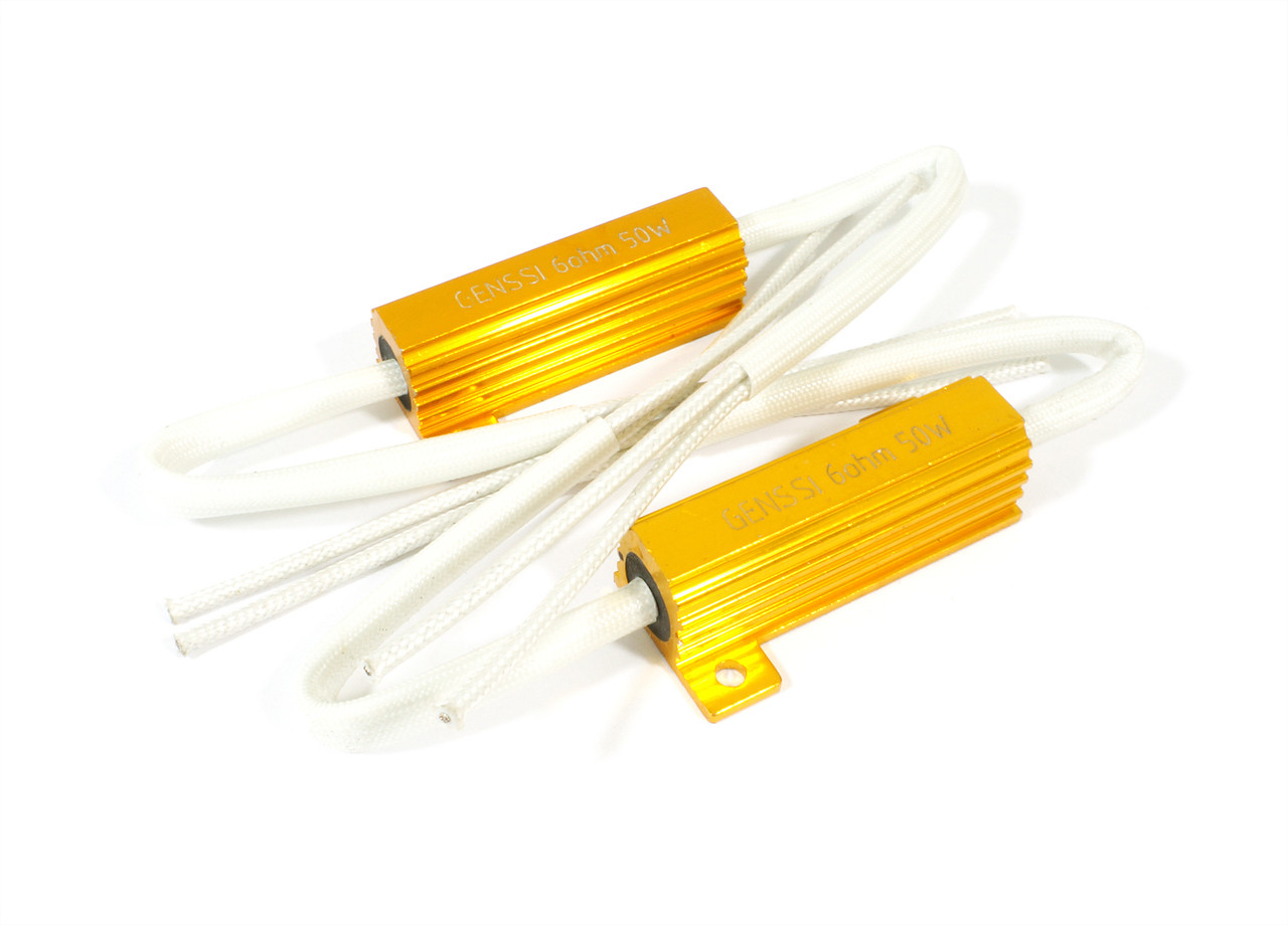 small resolution of 50w load resistor packs for hid led wiring 2 pack