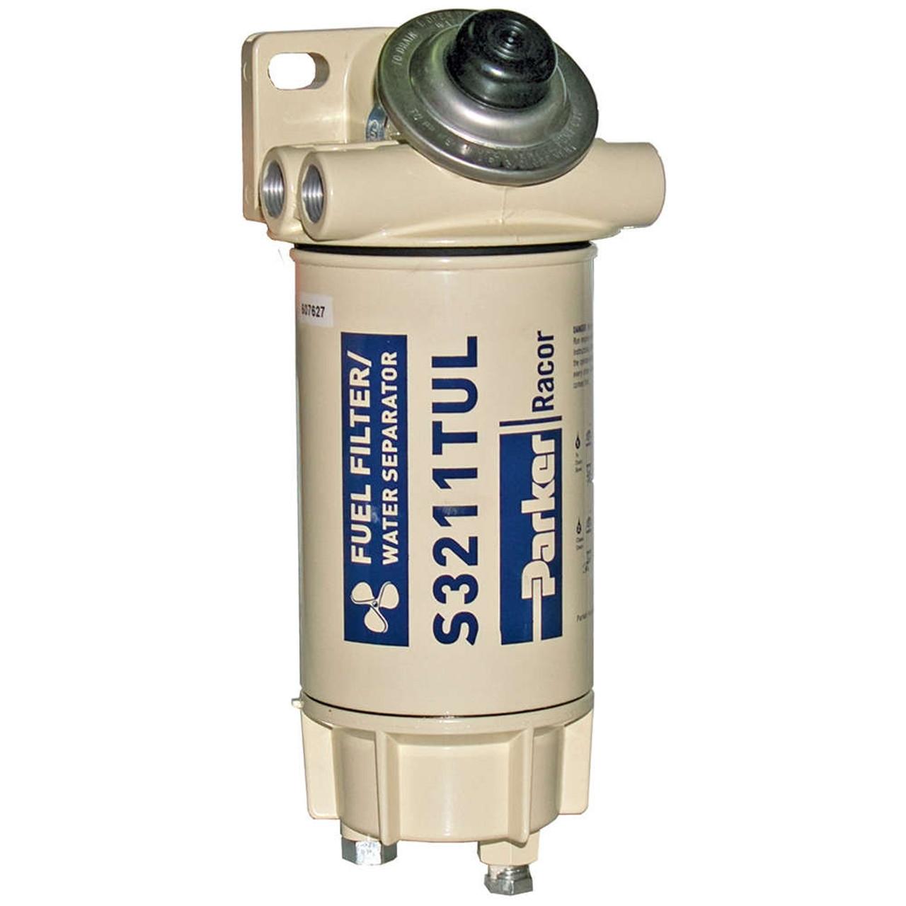 racor aquabloc marine 3 8 in 60 gph spin on diesel fuel filter water separator assembly 6 qty john m ellsworth co inc  [ 1000 x 1000 Pixel ]