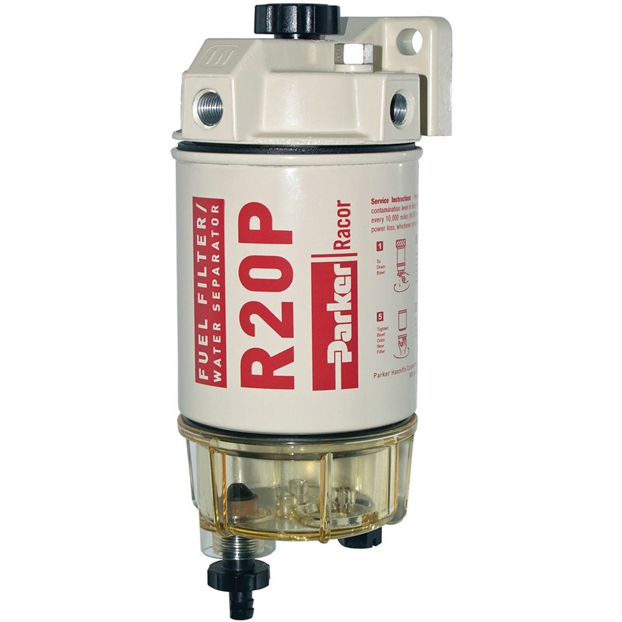 racor 200 series 30 gph low flow diesel fuel filter water separator 230 filter assembly [ 1000 x 1000 Pixel ]