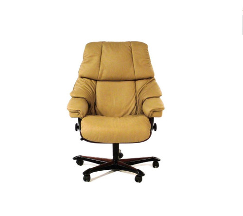stressless office chairs uk black chair covers spandex the clearance center at unwind com great ekornes deals taupe paloma leather reno with authorized discounts