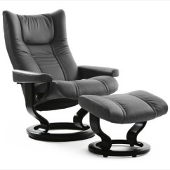 Recliner Chair With Ottoman Manufacturers American Girl Doll Ekornes Stressless Recliners Scandinavian Chairs Choose Stress Wing Large Nationwide Inside Delivery