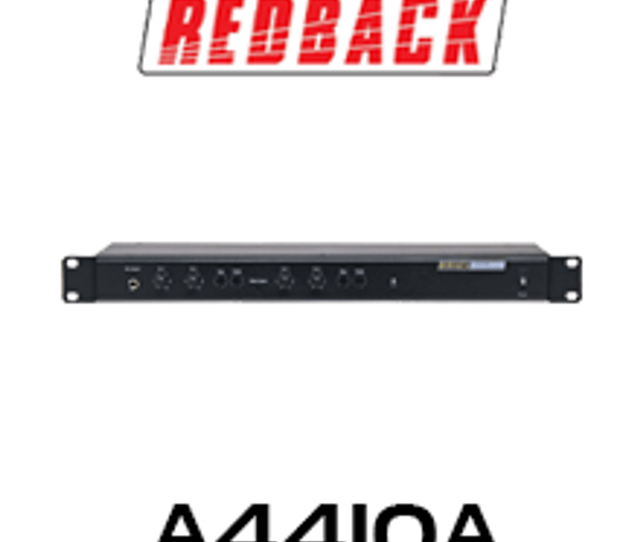 Redback Professional 4 Channel Stereo Mixer