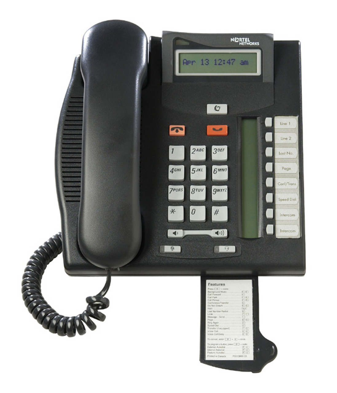 hight resolution of nortel norstar t7208 telephone