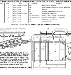 build your own utility trailer with champion trailers complete wiring diagram for tandem axle trailer [ 3774 x 2972 Pixel ]