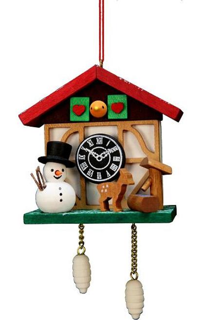 Wooden German Christmas Ornaments