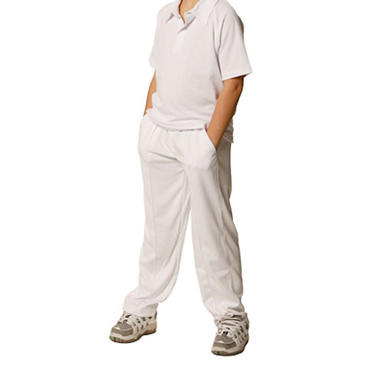 Cricket Pants | Kids | buy online childrens plain sports uniforms | wholesale