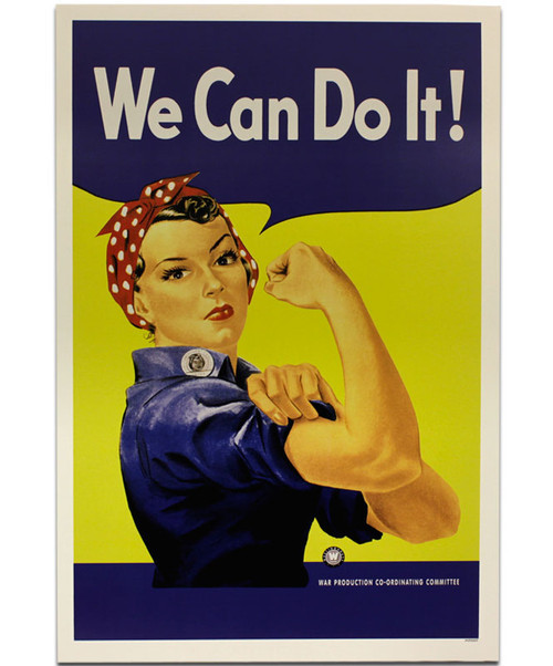 We Can Do It : Rosie, Riveter, Poster, National, Museum