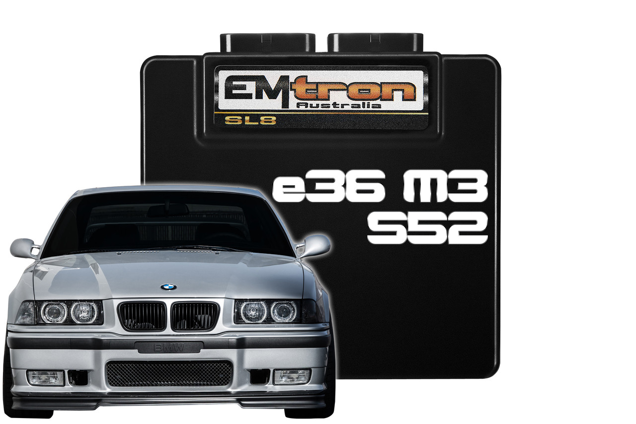 medium resolution of bmw e36 m52 s52 engine m3 complete plug and play package emtron kv8 ace performance