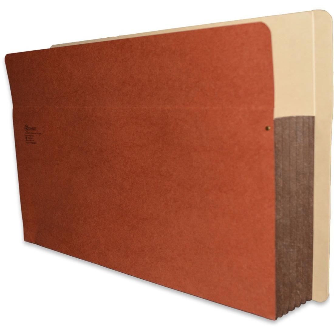 redweld shelf folder full