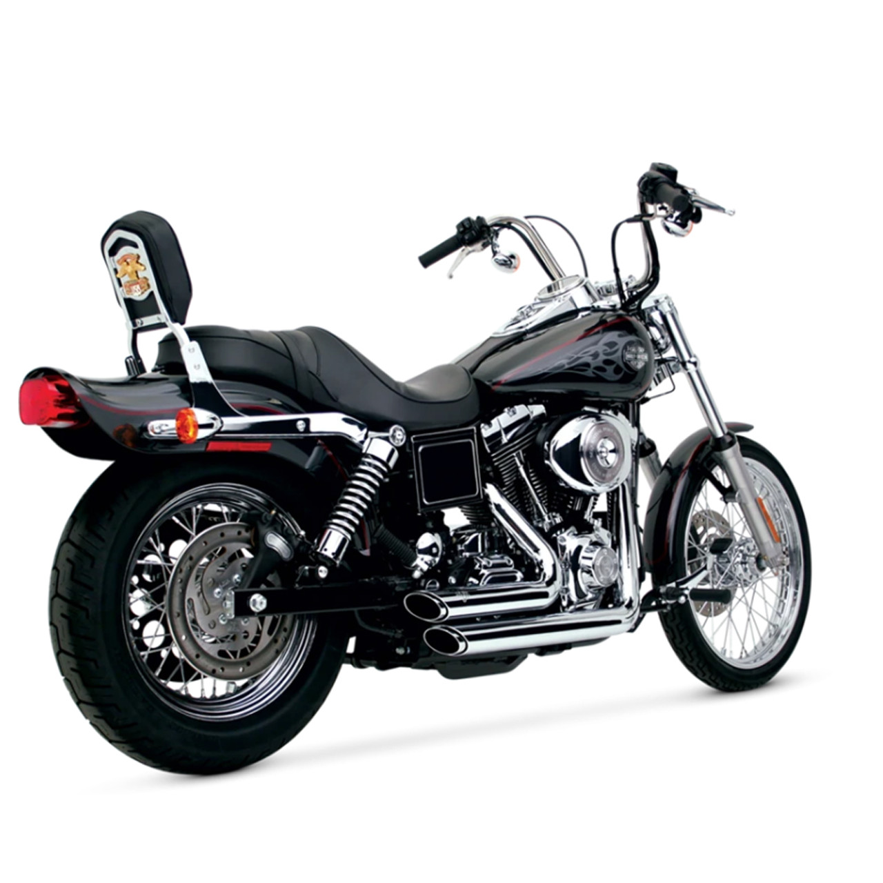 vance hines motorcycle shortshots staggered exhaust for 1991 2005 harley davidson dyna motorcycles