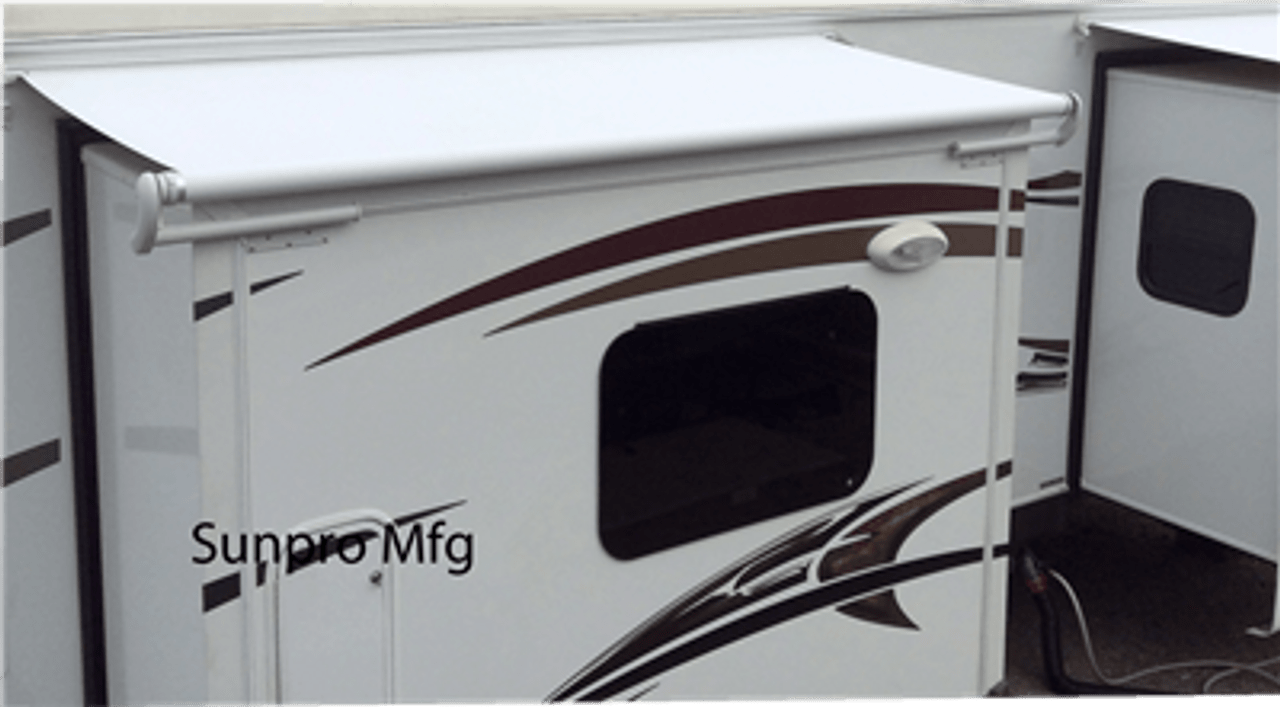 rv slide wds bmw wiring diagram online out awning fabric sunpro mfg 13oz topper replacement