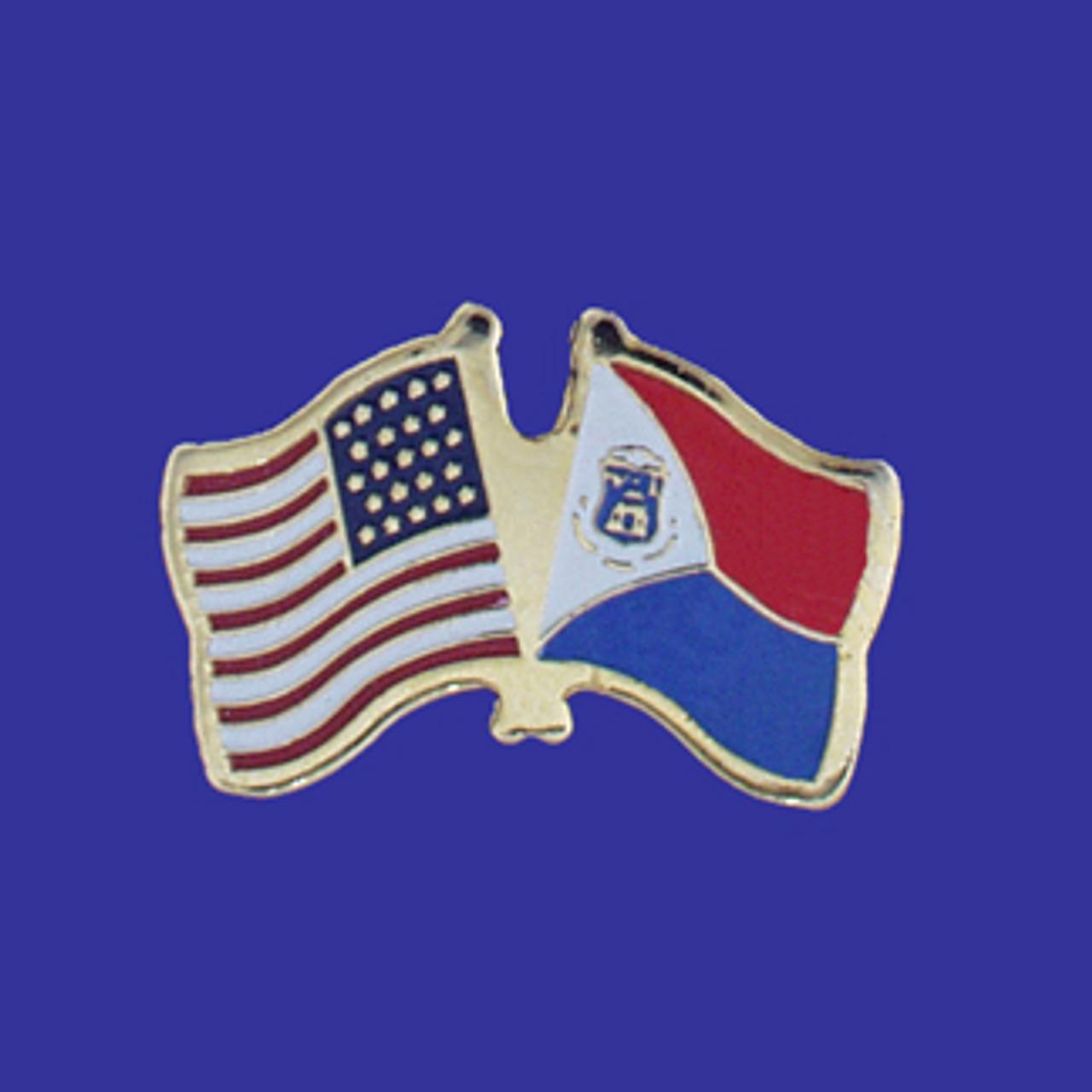 st maarten usa flag