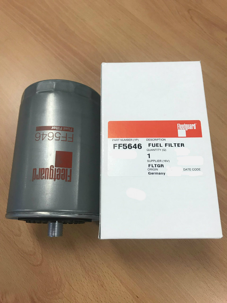 small resolution of ff5646 fleetguard fuel filter replaces mann wk943 1 volvo penta 8643157 mtu