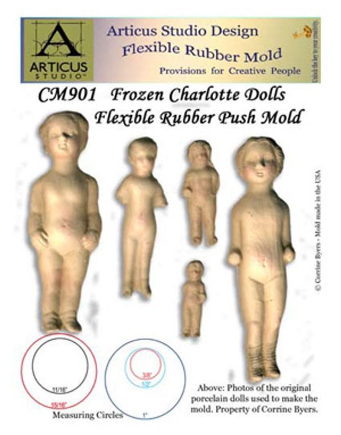 Frozen Charlotte Doll Mold