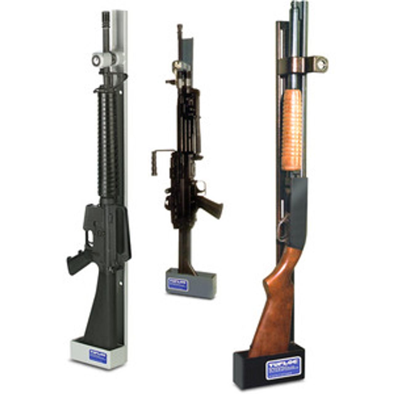 https danasafetysupply com single weapon vertical gun rack lock by tufloc