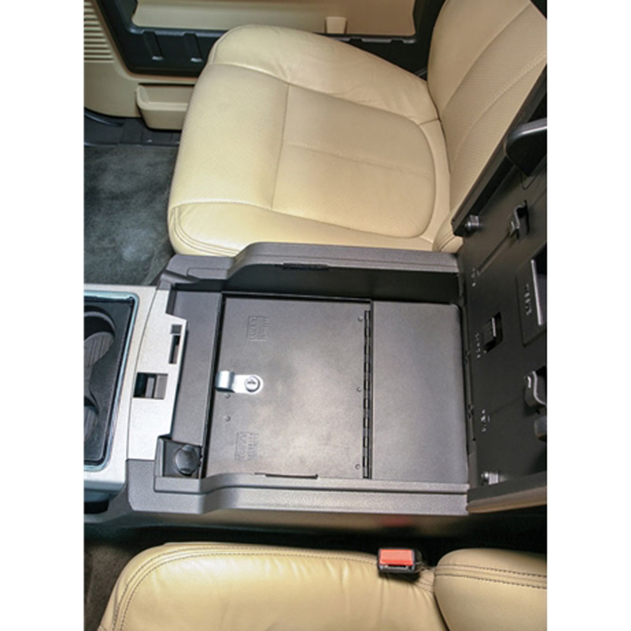 tuffy security 322 01 ford super duty 2011 2016 security console insert only [ 1280 x 1280 Pixel ]