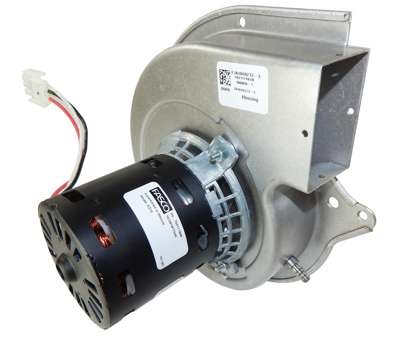 medium resolution of lennox furnace draft inducer blower 115v 7021 11063 18m67011 fasco a210