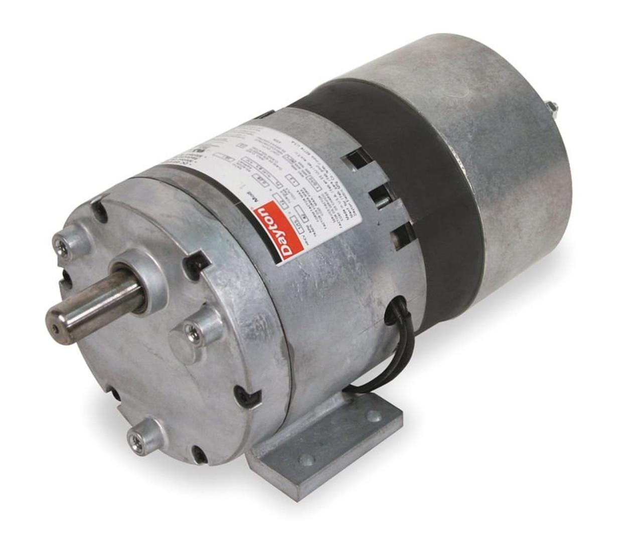 small resolution of  dayton model 1lpl6 gear motor 60 rpm 1 10 hp 115v 3m138 on 76 ly dayton gear motor wiring diagram