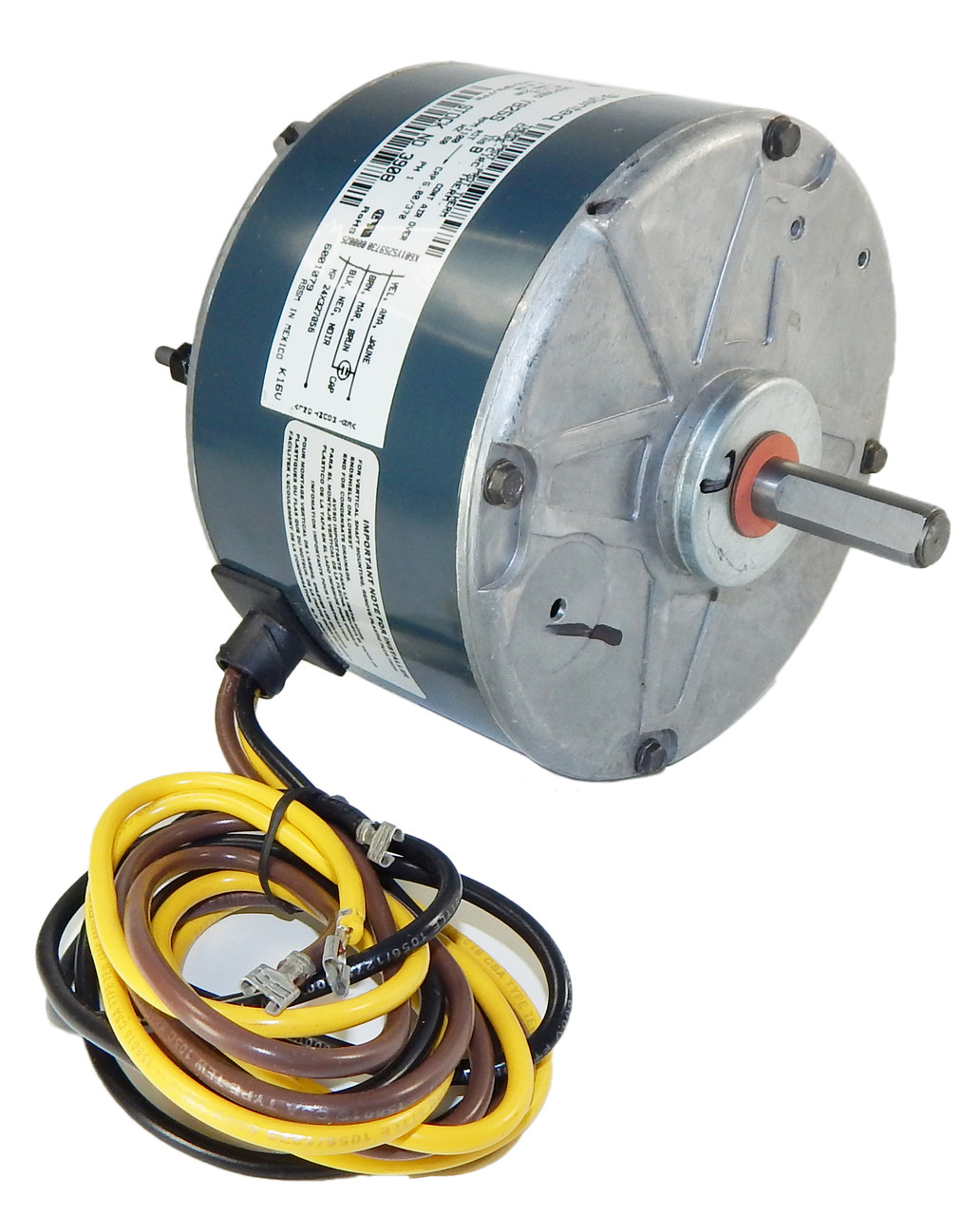 hight resolution of carrier condenser electric motor 5kcp39bgy825s 1 12hp 1075 rpm 208 230v g3908