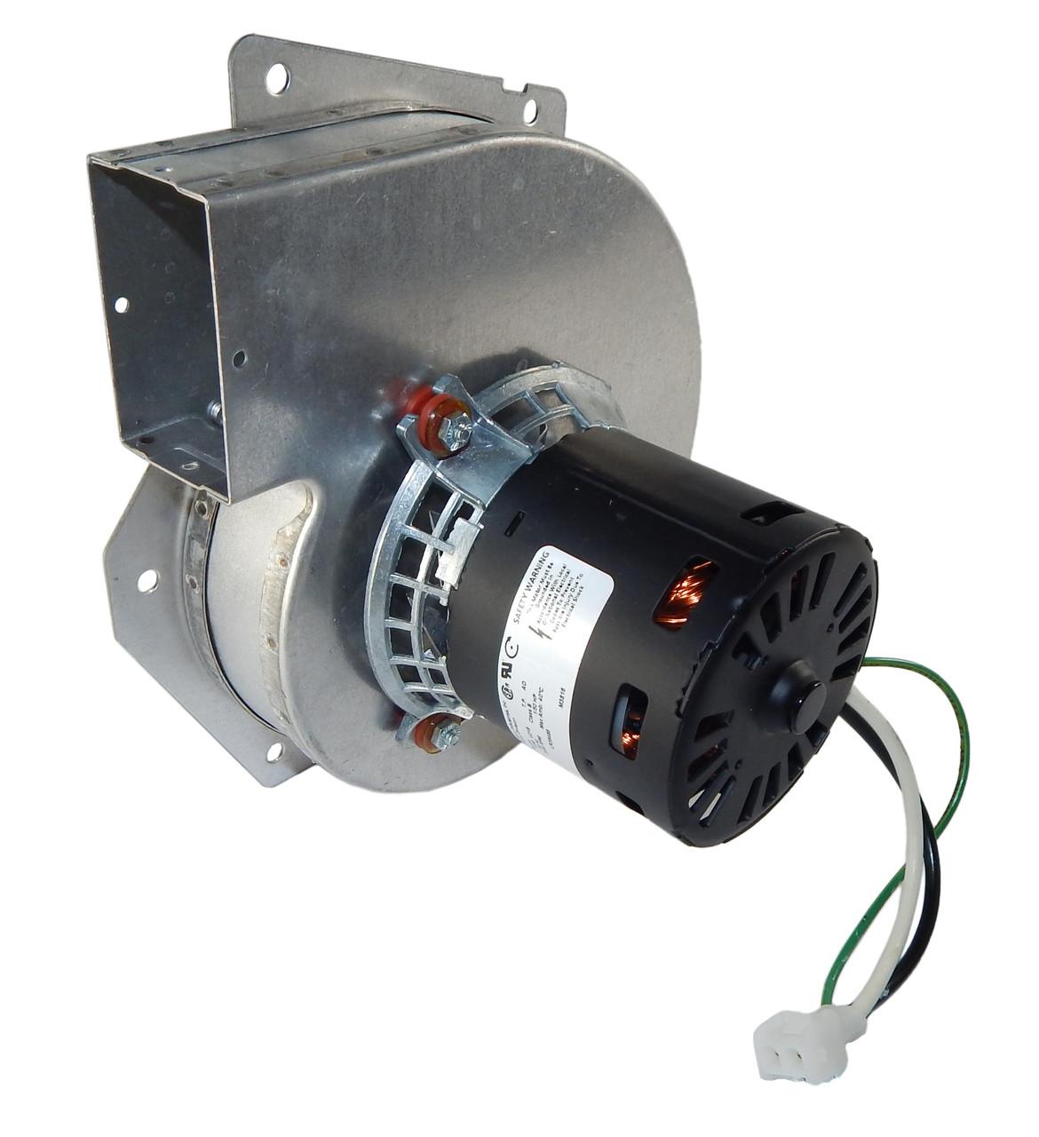 medium resolution of trane furnace draft inducer blower jakel j238 138 1344 115v fasco a143