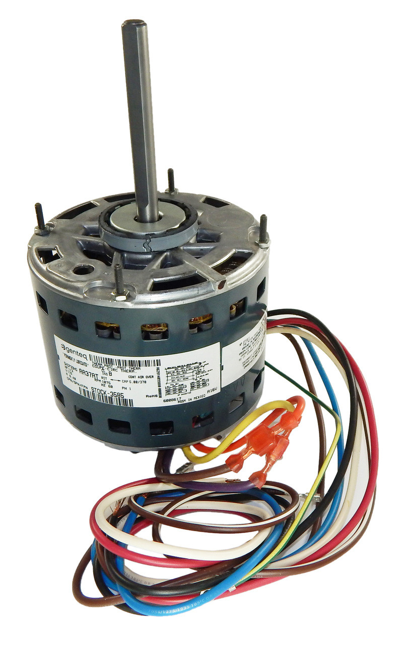 small resolution of 1 3 hp 1075 rpm 3 spd 115v furnace motor 5kcp39hgaa37at 3585