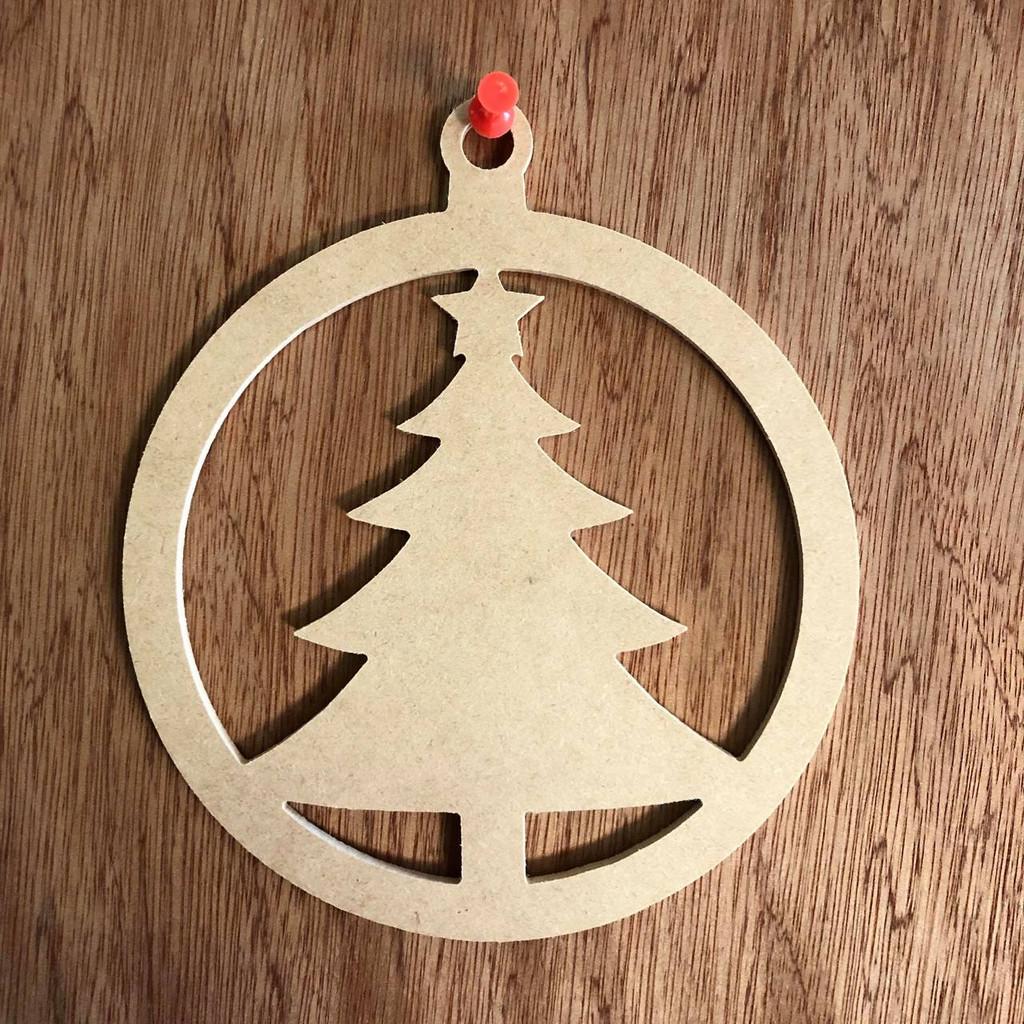 christmas ornament with christmas