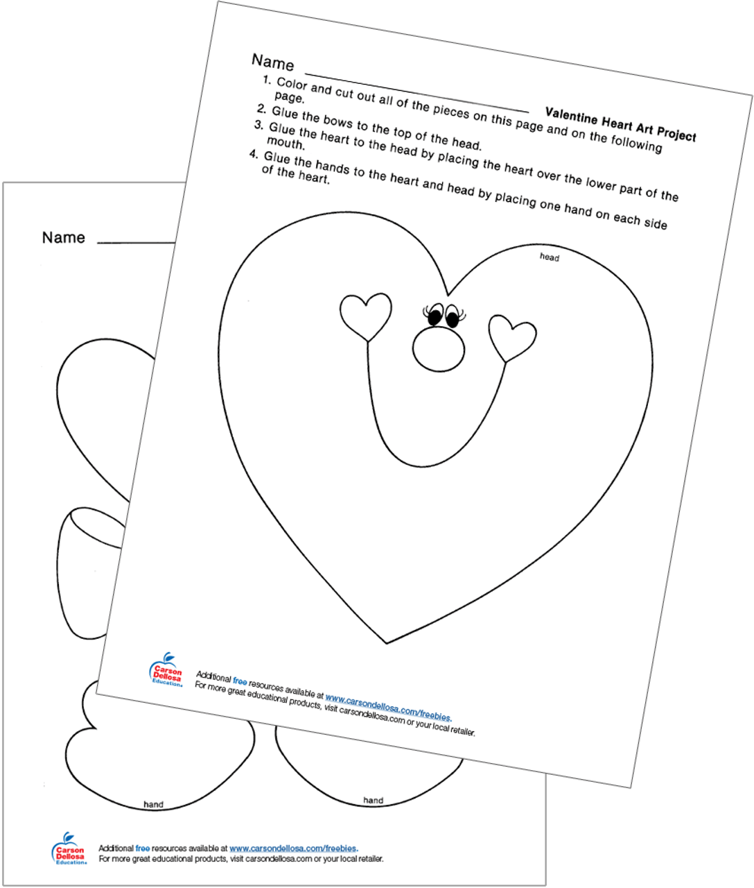 hight resolution of heart diagram project
