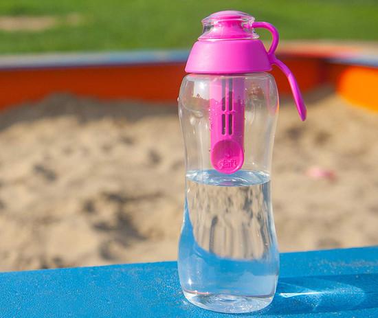Dafi Filtering Water Bottle 10 fl oz Made In Europe BPA-Free