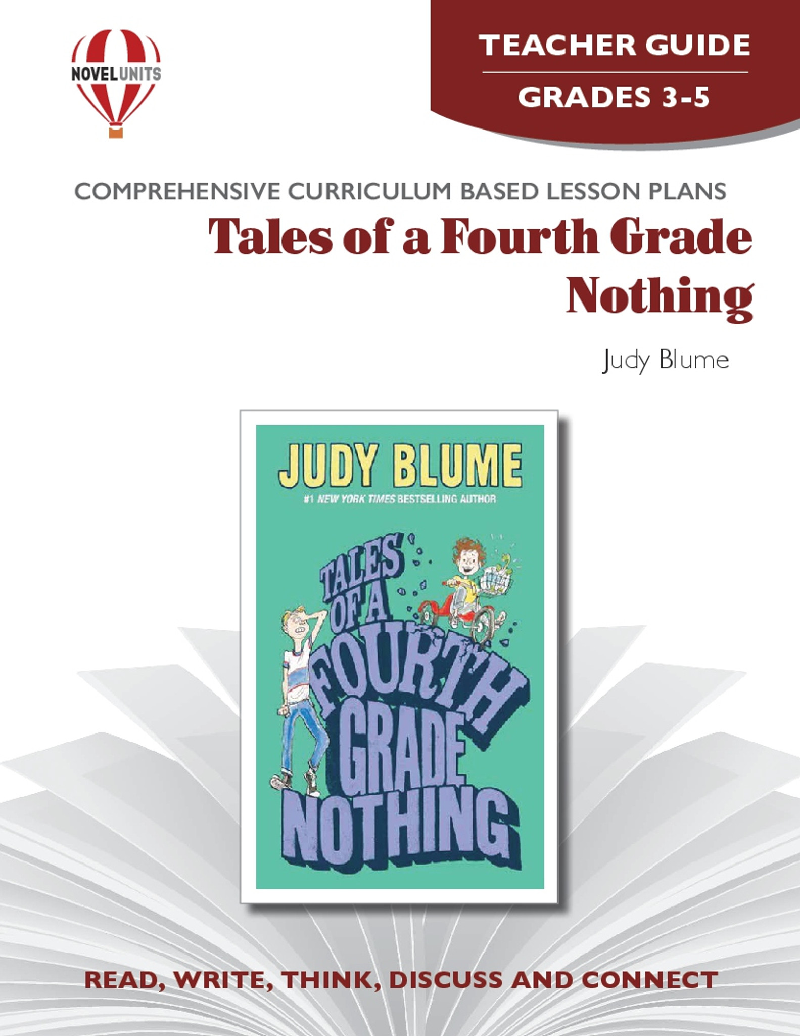 Tales Of A Fourth-Grade Nothing Novel Unit Teacher Guide [ 2048 x 1583 Pixel ]