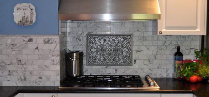 kitchen backsplash mural kitchen