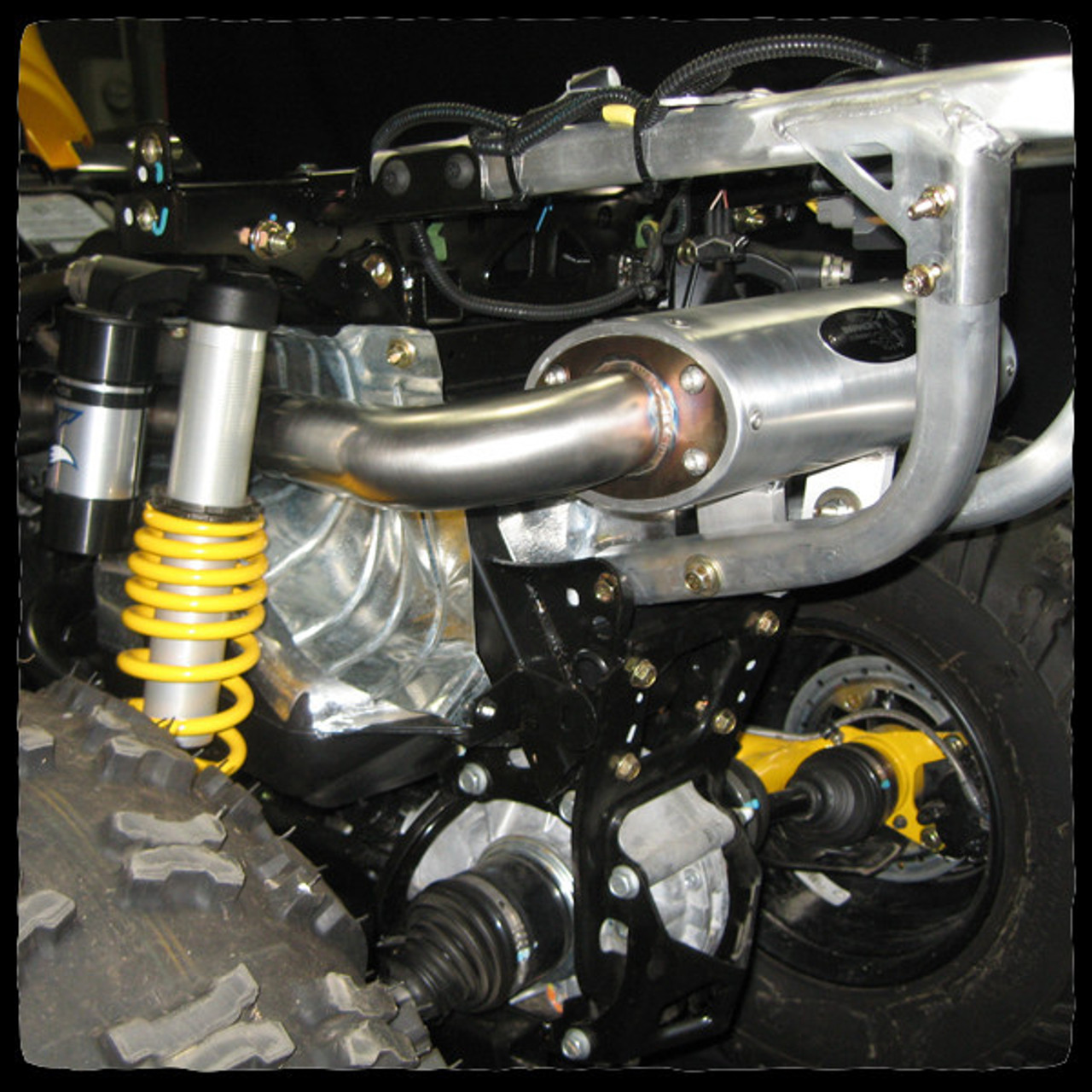 barkers can am renegade 1000 atv full exhaust system