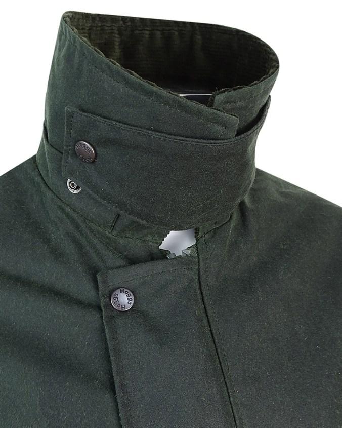 Hoggs of Fife Woodsman Men's Wax Jacket Storm Collar