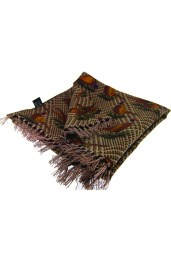 tartan pheasant silk scarf gift men