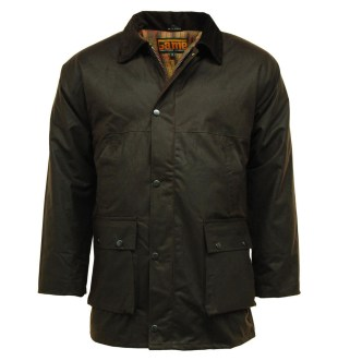 Game Technical Padded Men's Wax Jacket