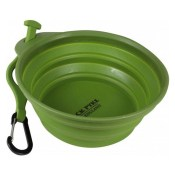 foldable dog water bowl