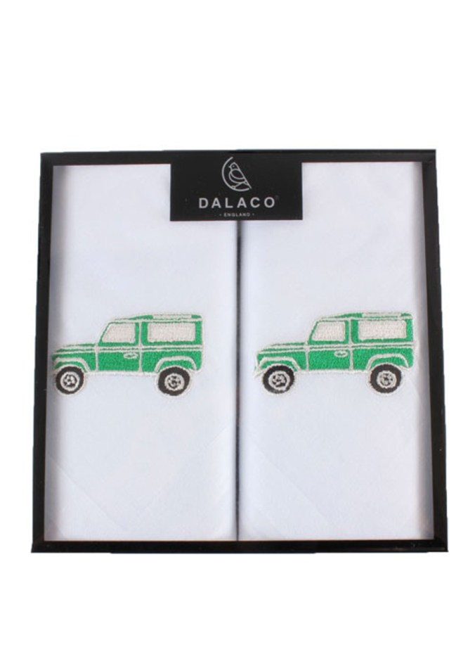 landrover hankerchief gift for farmers