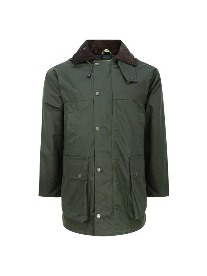 Hoggs of Fife Padded Wax Jacket