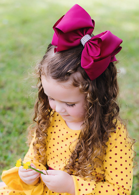 hair bows girls over 100
