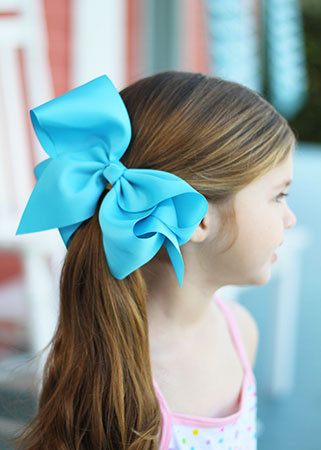 hair bows extra large grosgrain