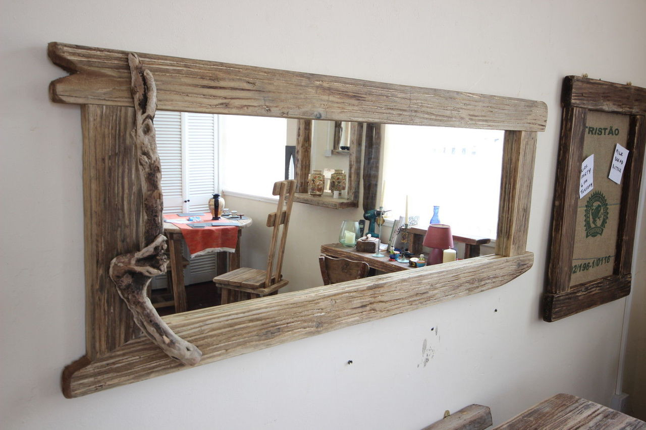 Wood Framed Mirrors For Bathrooms