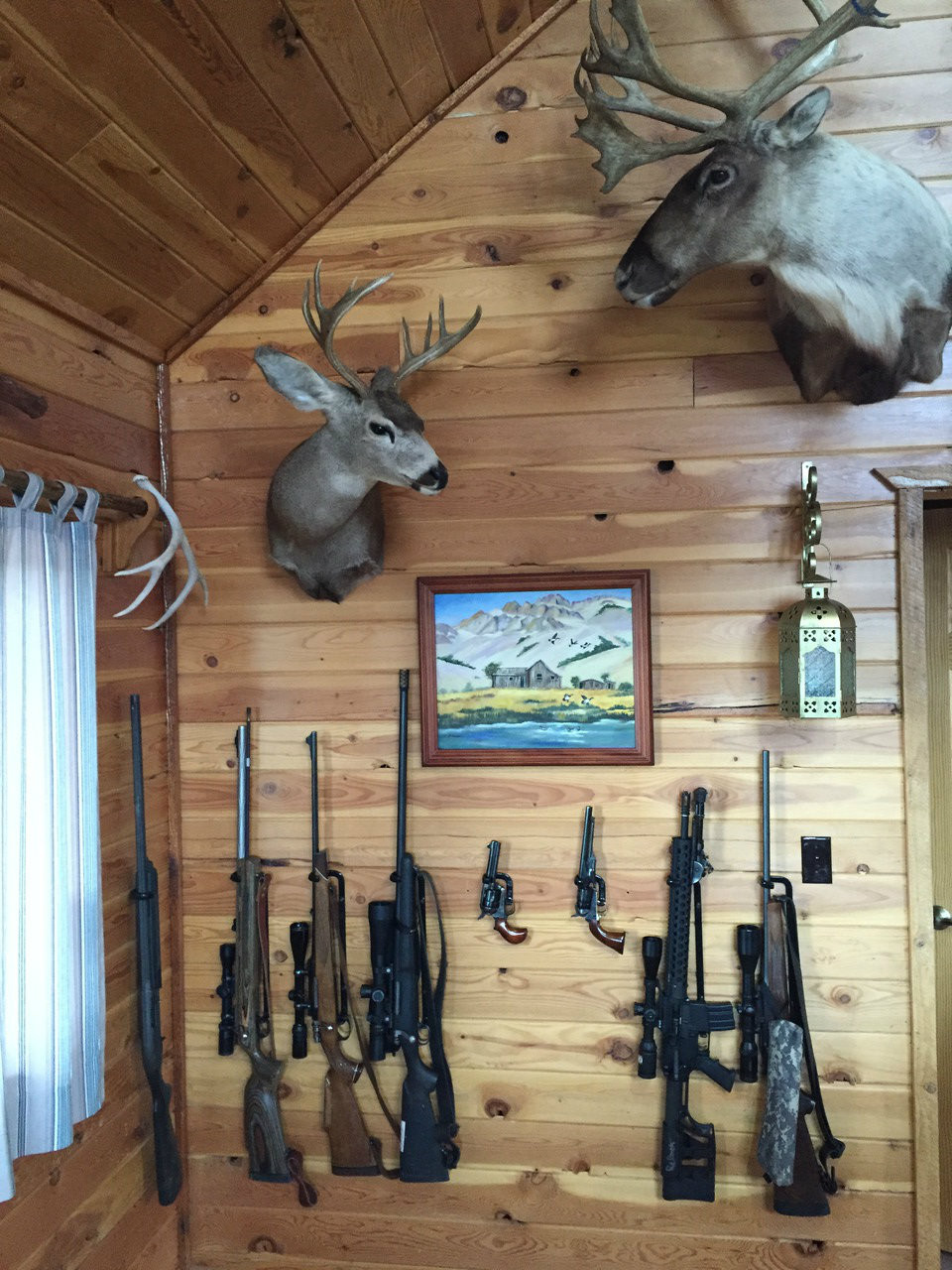 long rifle vertical rack