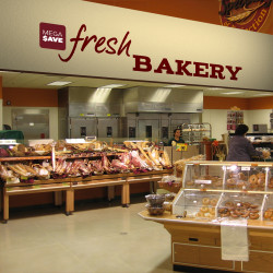 Bakery Store Signs Bakery Interior Design Countertop Sign Holders